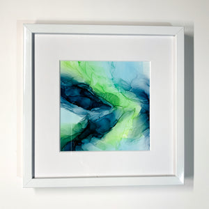 Island Lime Framed Mini