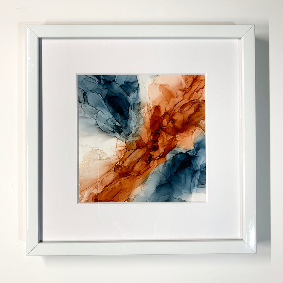 Blue Water - Red Dirt Framed Mini