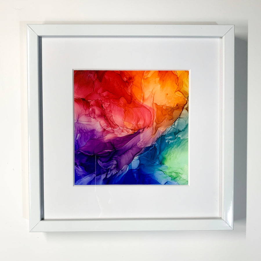ROYGBIV Framed Mini