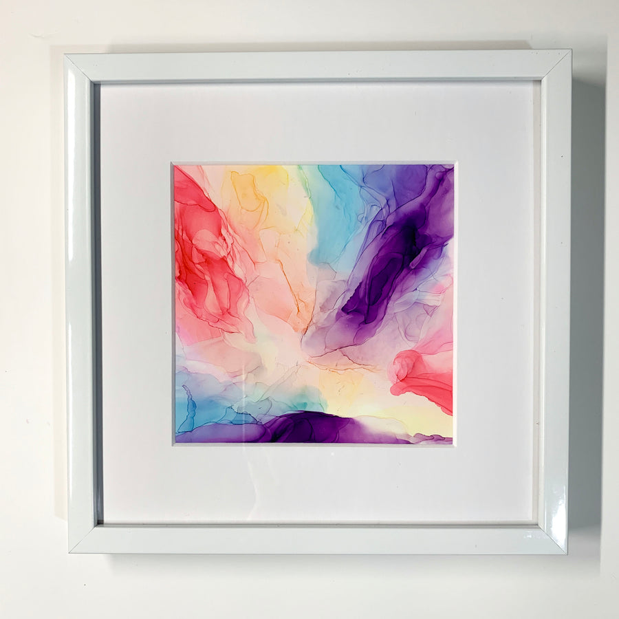 Summer Sherbet Framed Mini
