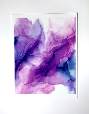 Purple Power I- 8x10""