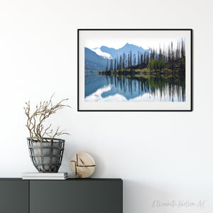 Medicine Lake Reflection Print