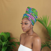 Load image into Gallery viewer, Zizi Satin Lined Headwrap