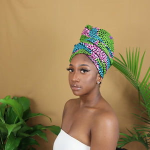 Zizi Satin Lined Headwrap
