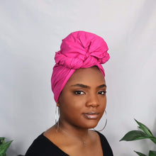 Load image into Gallery viewer, Pink Headwrap