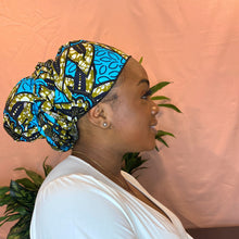 Load image into Gallery viewer, Obioma Satin Lined Headwrap