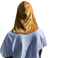 Load image into Gallery viewer, Gold Velvet Durag