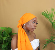 Load image into Gallery viewer, Orange Headwrap