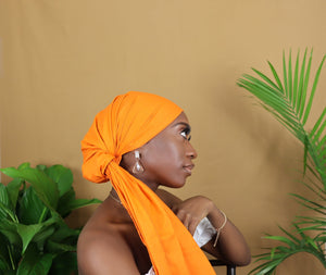 Orange Headwrap
