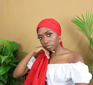 Ruby Red Headwrap