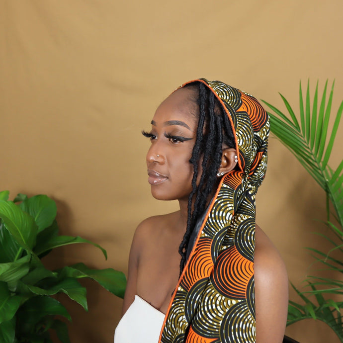 Nkem Satin Lined Headwrap