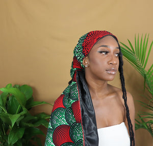 Muna Satin Lined Headwrap