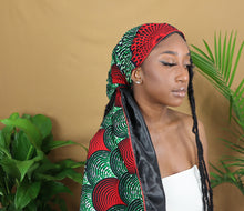 Load image into Gallery viewer, Muna Satin Lined Headwrap