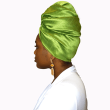 Load image into Gallery viewer, Verte Raw Silk Headwrap