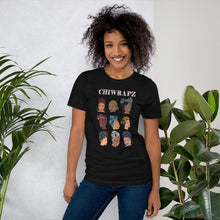 Load image into Gallery viewer, Limited Edition Black Chiwrapz T-Shirt (Pre-Order) - Chiwrapz
