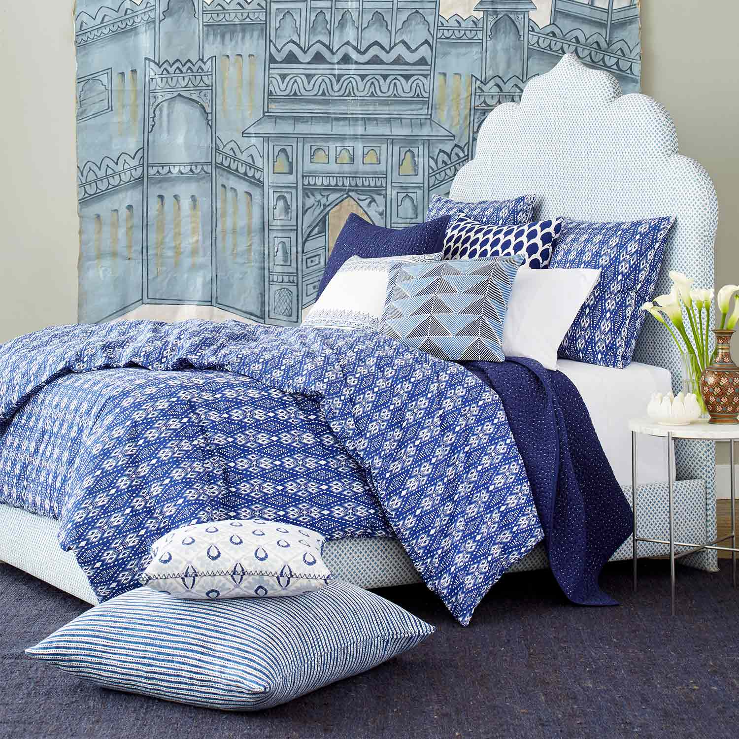 Dari Indigo Bed Collection