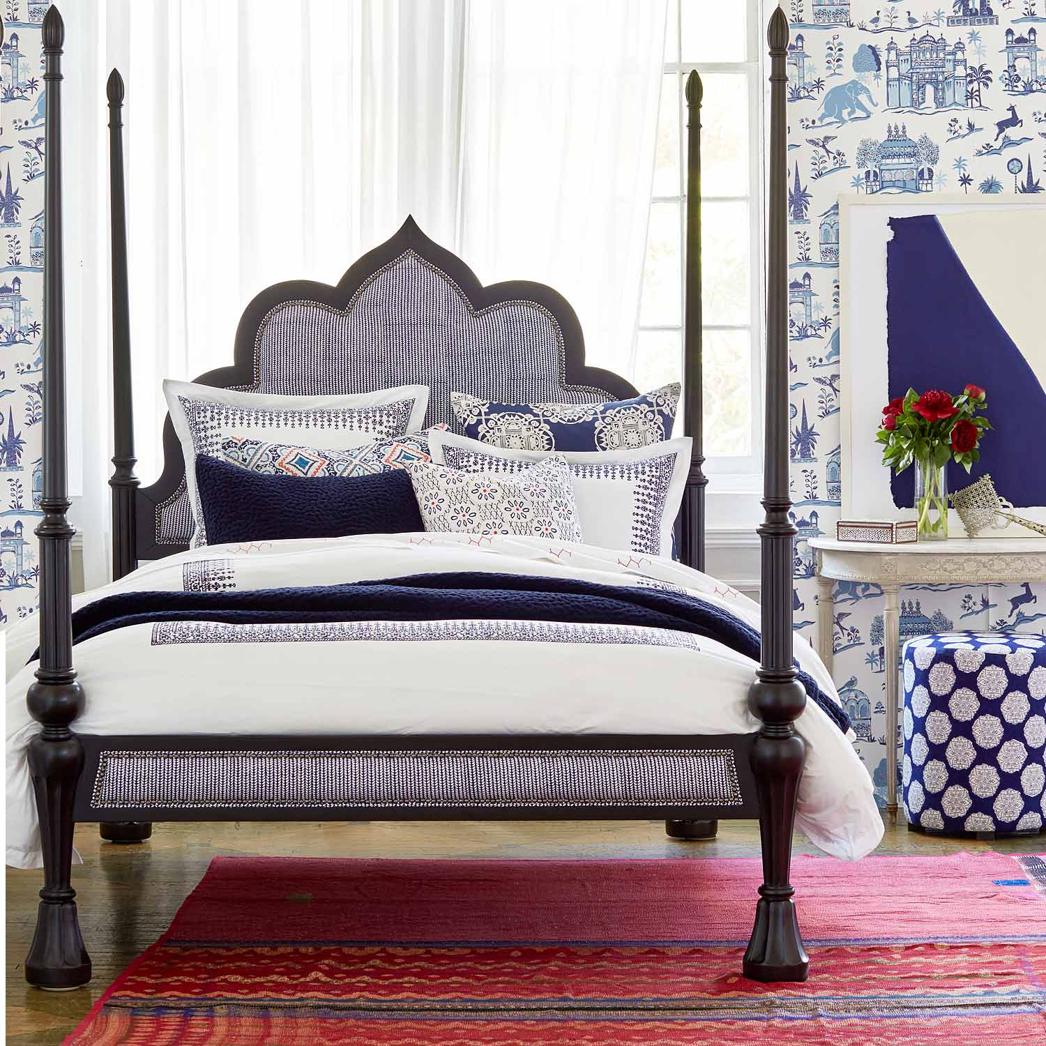 Makki Indigo Bed Collection