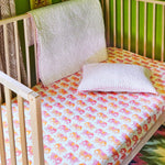 Gamana Lotus Organic Crib Sheet