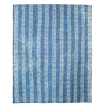 Striped Dabu Rug