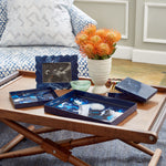 Pavesa Indigo Decorative Tray