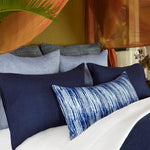Cabatti Washed Linen Duvet Set in Ink