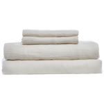 Cabatti Washed Linen Sheet Set in Sand