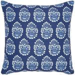 Diwan Indigo Outdoor Decorative Pillow