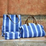 Vintage Stripe Dopp Kit