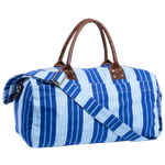 Vintage Stripe Duffle Bag