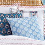 Mali Light Indigo Decorative Pillow