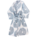 Lapis Quilted Robe