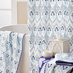 Sahasa Indigo Bath Towels