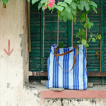 Vintage Stripe Tote Bag