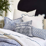 Bahari Bright White Coverlet