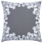 Majjan Gray Decorative Pillow