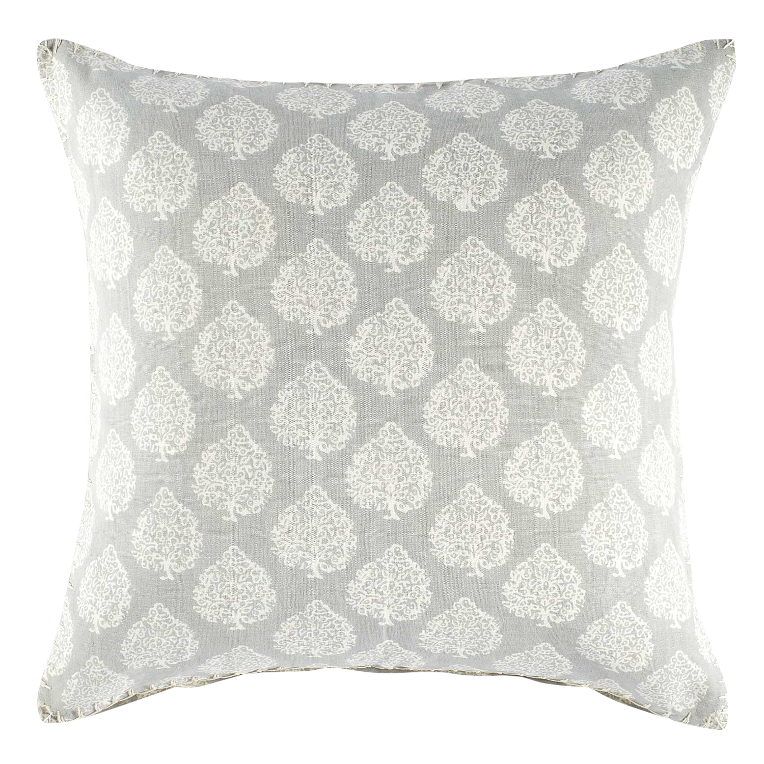 John Robshaw Textiles Mali Gray Decorative Pillow