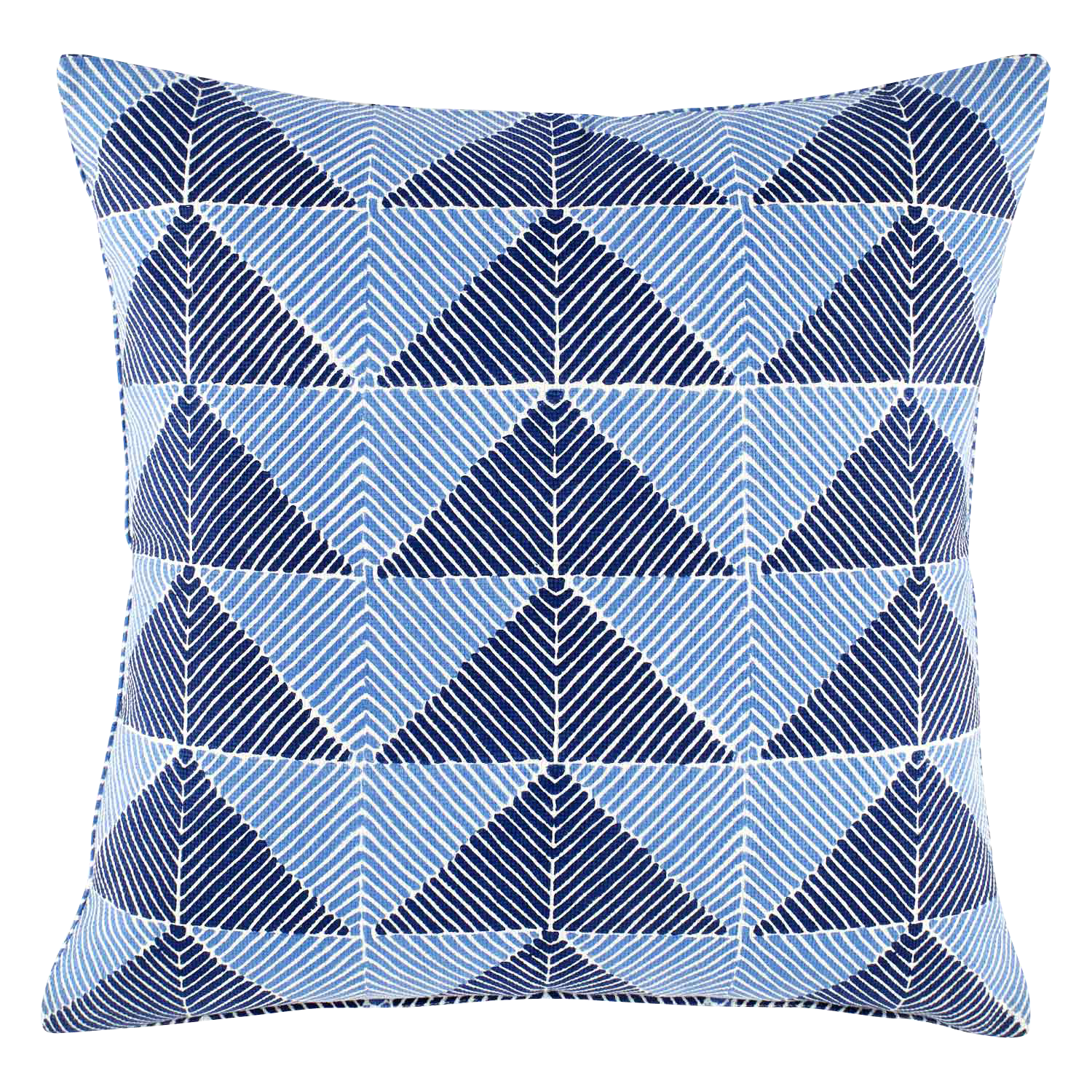 Peak Indigo Decorative Pillow