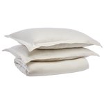 Cabatti Washed Linen Duvet Set in Sand