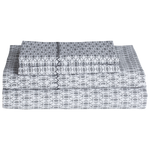 Kama Gray Sheet Set
