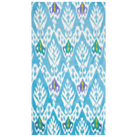 Umida Ikat Blue Beach Towel