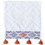 Aloka Coral Bath Towels