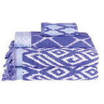 Kalasin Periwinkle Bath Towel