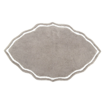 Signature Gray/White Bath Rug
