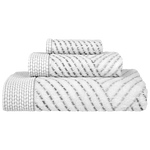 Sazid Gray/Charcoal Bath Towels