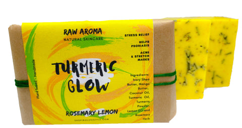 Turmeric Glow - Rosemary 🌿🍋 Lemon