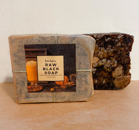 Pumpkin Chai Black Soap