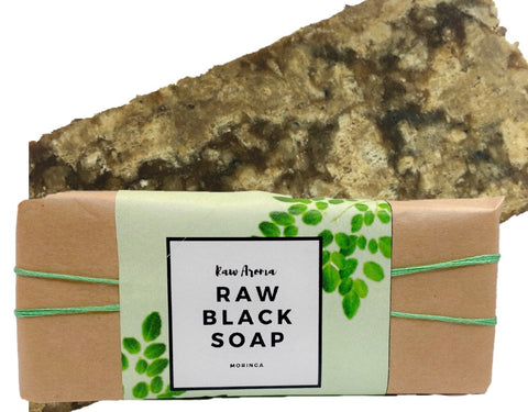 Moringa Black Soap