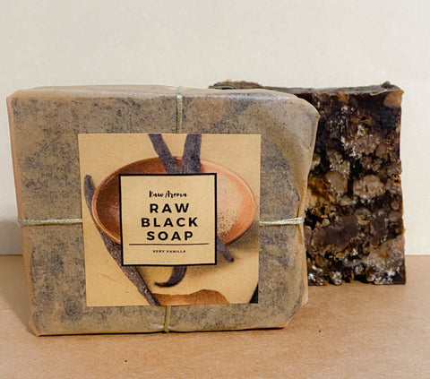 Very Vanilla Black Soap