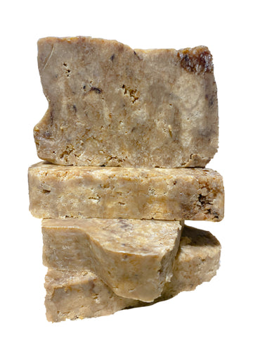 Raw African Black Soap (Tan)