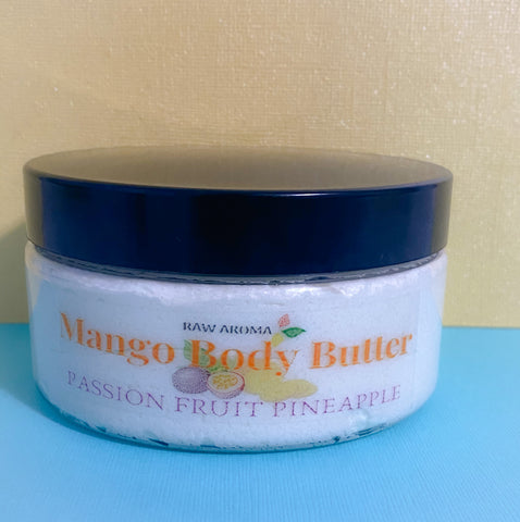 Whipped Mango Butter - Passion Fruit Pineapple